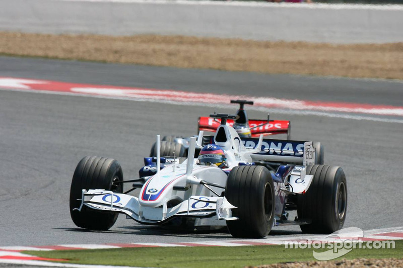 Jacques Villeneuve et Pedro de la Rosa