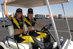 Two gorgeous Pirelli girls