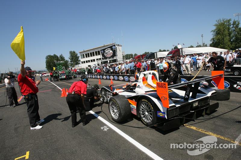 Défi de l'équipe de stand : #37 Intersport Racing Lola B05/40 AER: Clint Field, Liz Halliday, Jon Field