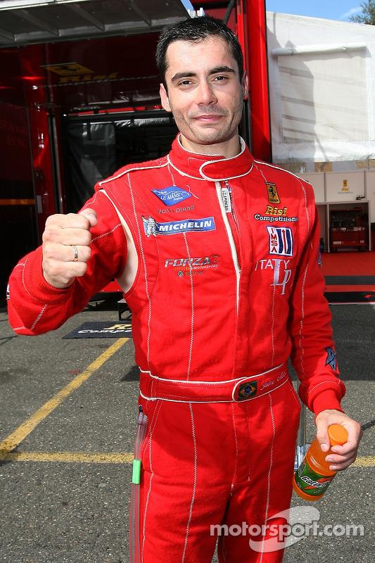 Jaime Melo en pole position en GT2