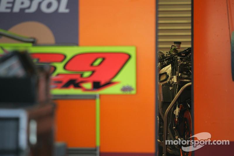 La Honda RC211V de Nicky Hayden