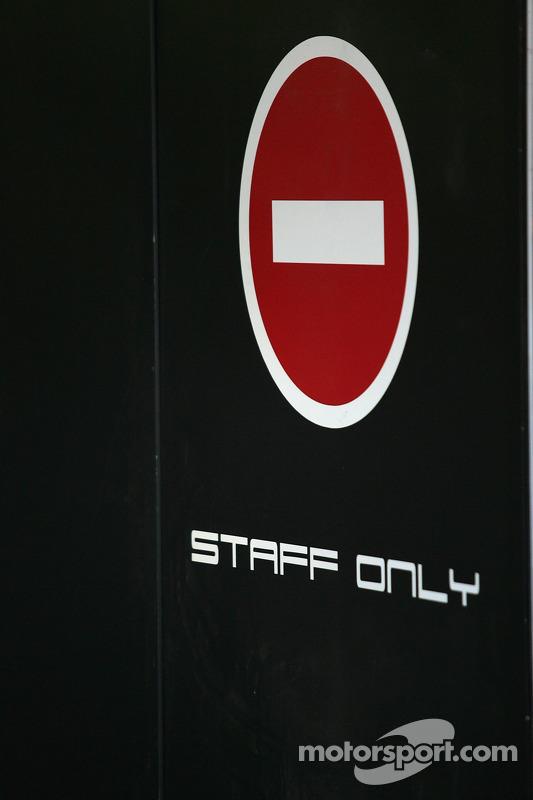 Staff uniquement
