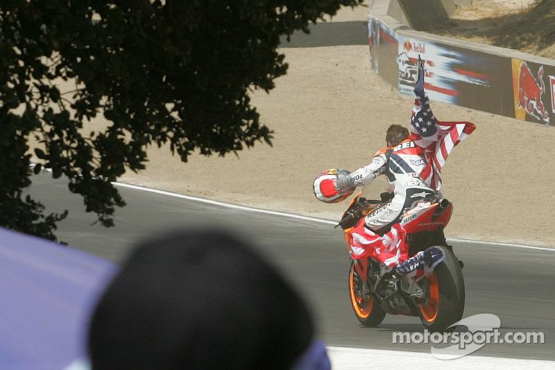 Как и первая, последняя победа Ники пришлась все на тот же домашний Гран При США. На «Лагуна-Секе» 2006 года Хейден выиграл свою третью и последнюю гонку в MotoGP.