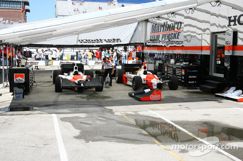 Le garage de Penske