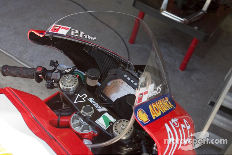 Máquina de MotoGP de Sete Gibernau