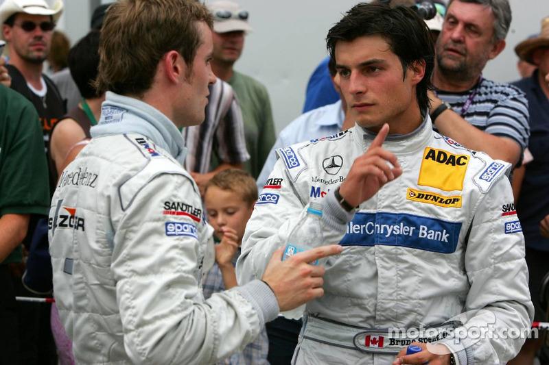 Bruno Spengler parle avec Jamie Green