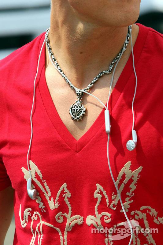 Amulette de Michael Schumacher