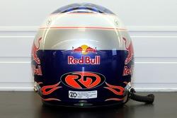 Helmet of test driver Robert Doornbos