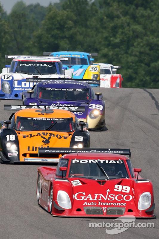 #99 Gainsco/ Blackhawk Racing Pontiac Riley: Jon Fogarty, Alex Gurney