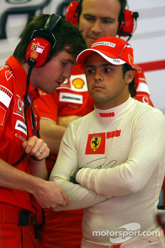 Felipe Massa y Rob Smedly