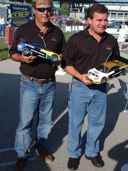 RC cars challenge: Sterling Marlin and Joe Nemechek