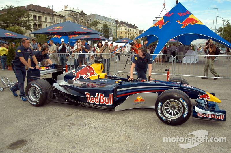 Red Bull Show Run Budapest: un RB2
