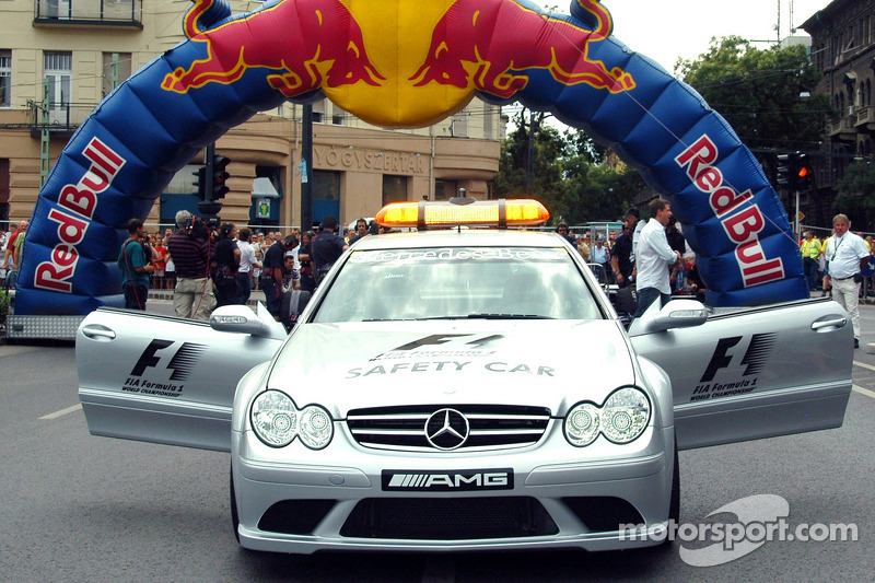 Red Bull Show Run Budapest: el safety car