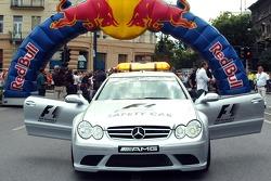 Red Bull Show Run Budapest: el safety car