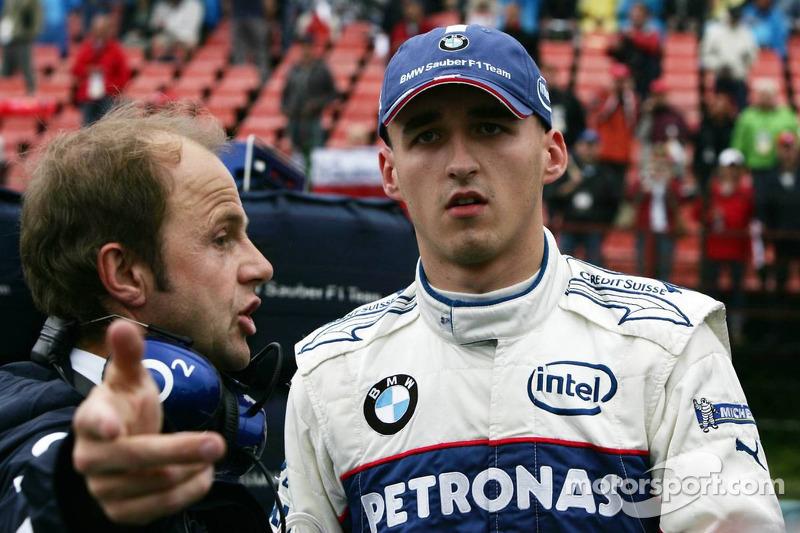 Robert Kubica y Joseph Leberer