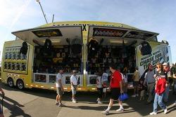 NASCAR Nextel Cup merchandising area