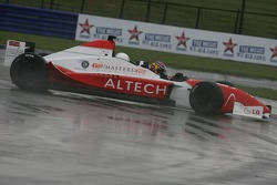 Marc Hines in the two-seater