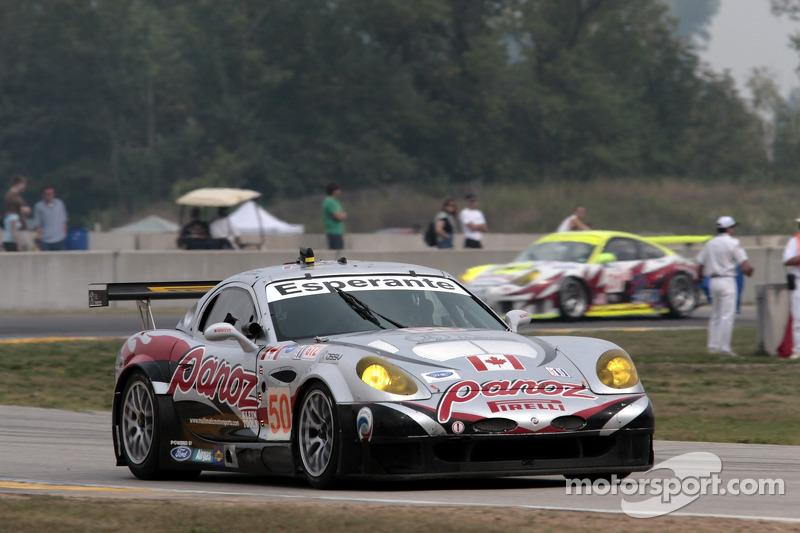 #50 Multimatic Motorsports Team Panoz Panoz Esperante GTLM: Scott Maxwell, David Brabham