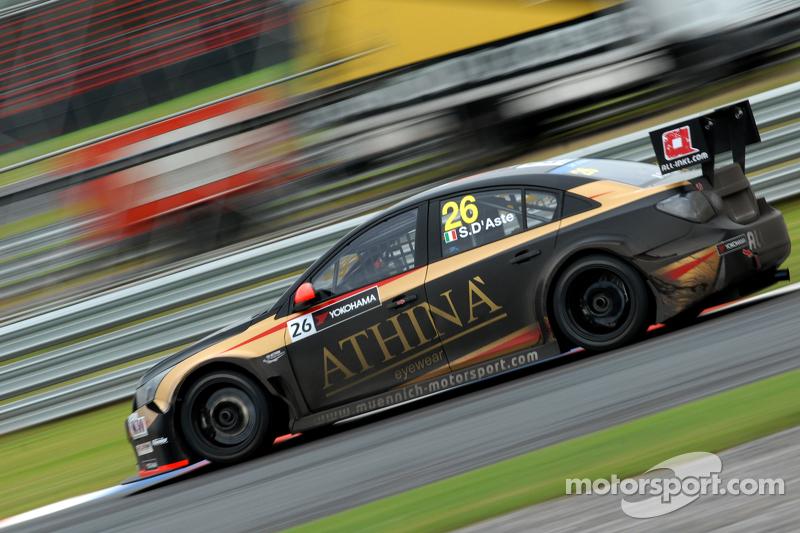 Stefano D'Aste, All-Ikl.com Münnich Motorsport, Chevrolet RML Cruze TC1