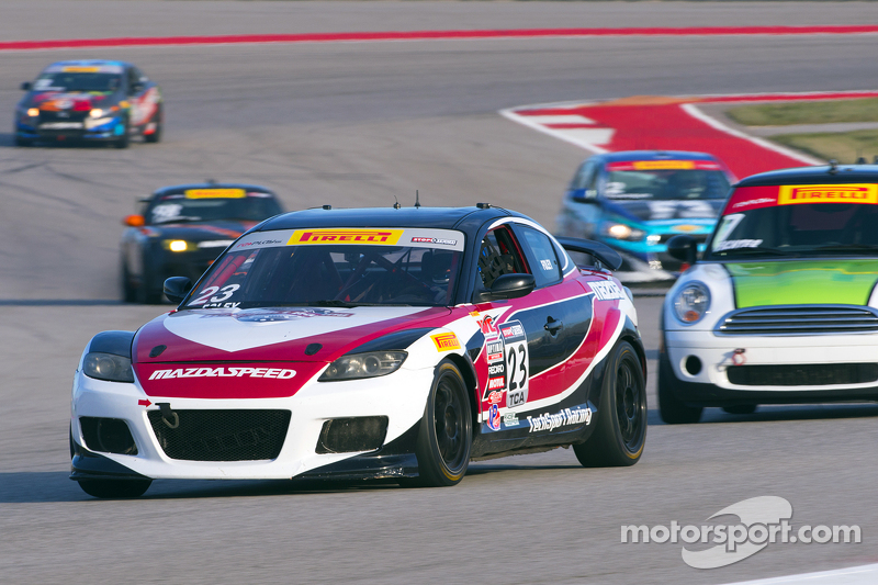 #23 Tech Sport Racing Mazda RX8: Robby Foley