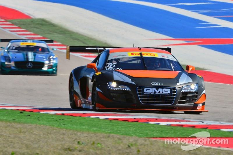 #76 GMG 奥迪R8 LMS Ultra: Alex Welch