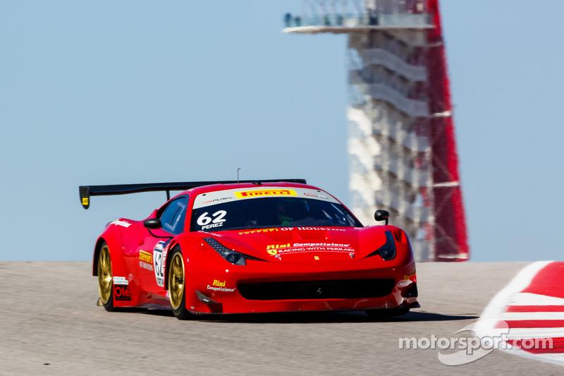 #62 Risi Competizione, Ferrari 458 GT3 Italia: Ricardo Perez