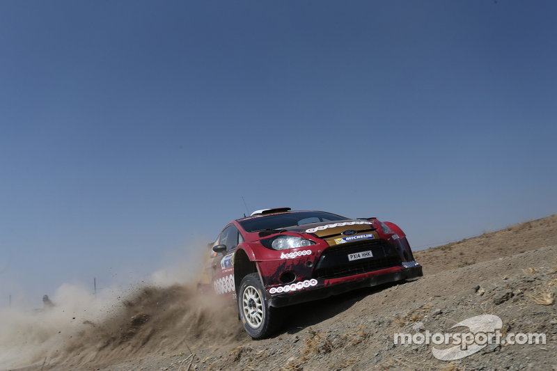 Nasser Al-Attiyah和Matthieu Baumel, 福特 Fiesta R5