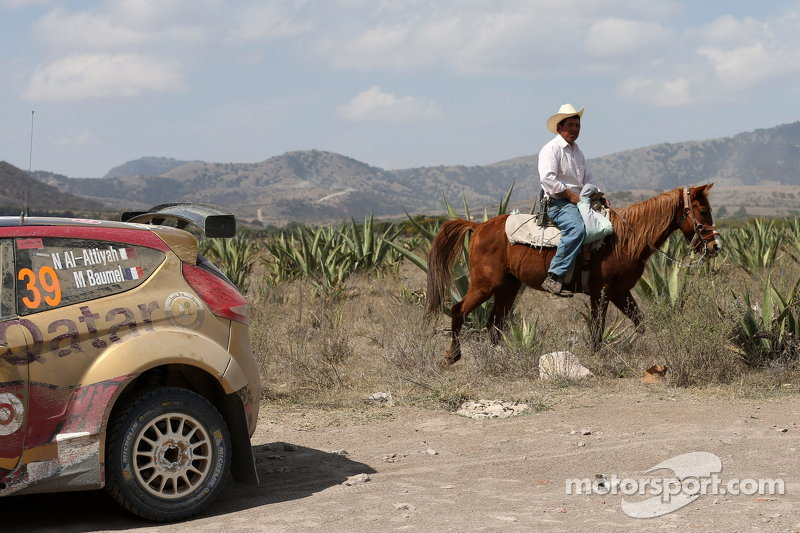 Nasser Al-Attiyah und Matthieu Baumel, Ford Fiesta R5