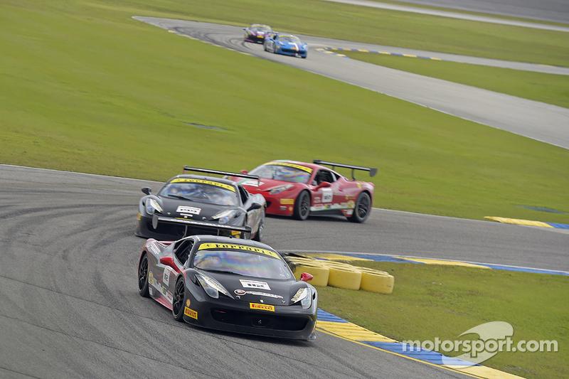 #112 Ferrari of Fort Lauderdale, Ferrari 458: Dan O'Neal