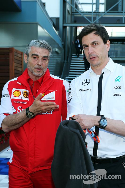 Мауріціо Аррівабене, Керівник Scuderia Ferrari з Тото Вольф, Виконавчий директор Mercedes AMG F1 та акціонер