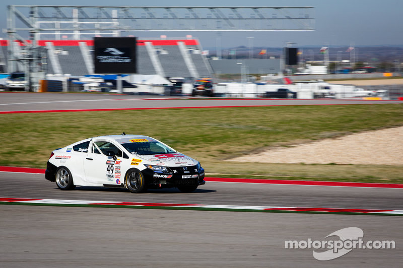 #49 Brта en Peterson Racing Honda Civic Si: Patrick Seguin