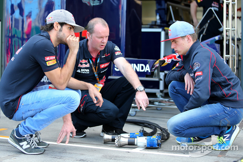 Карлос Сайнс мол., Scuderia Toro Rosso та Макс Ферстаппен, Scuderia Toro Rosso