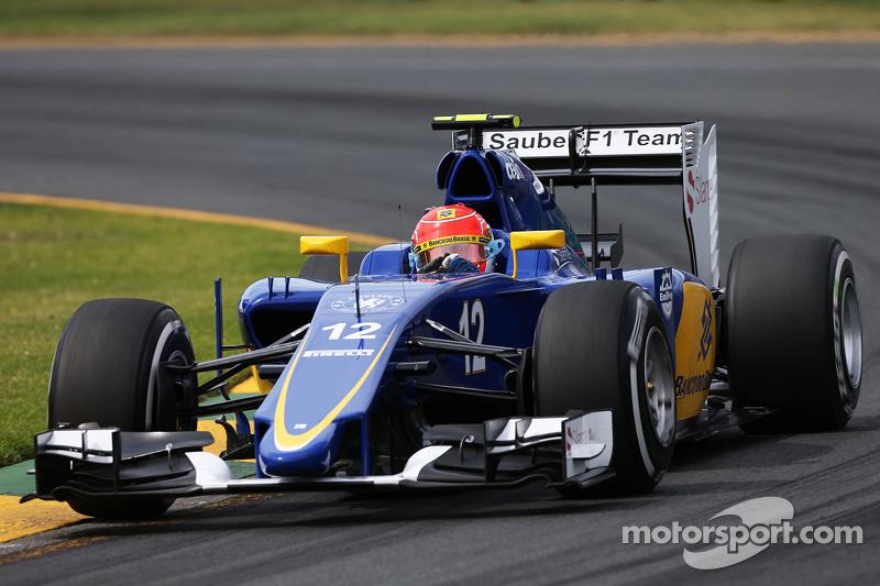 Felipe Nasr: Grand Prix von Australien 2015