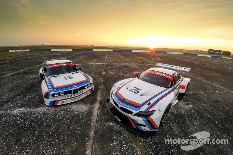 1975 BMW IMSA 3.0 CSL e 2015 Team RLL BMW Z4