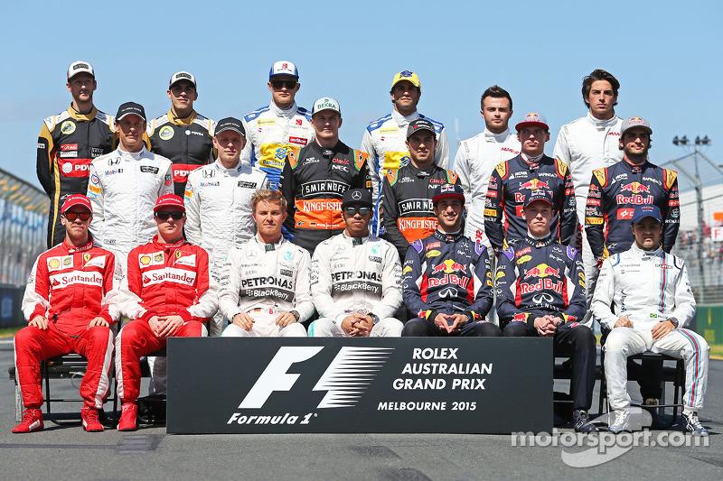 2015 Formula 1 sezonu pilotları
