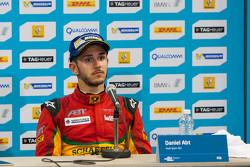 Post-carrera rueda de prensa: el tercer lugar Daniel Abt