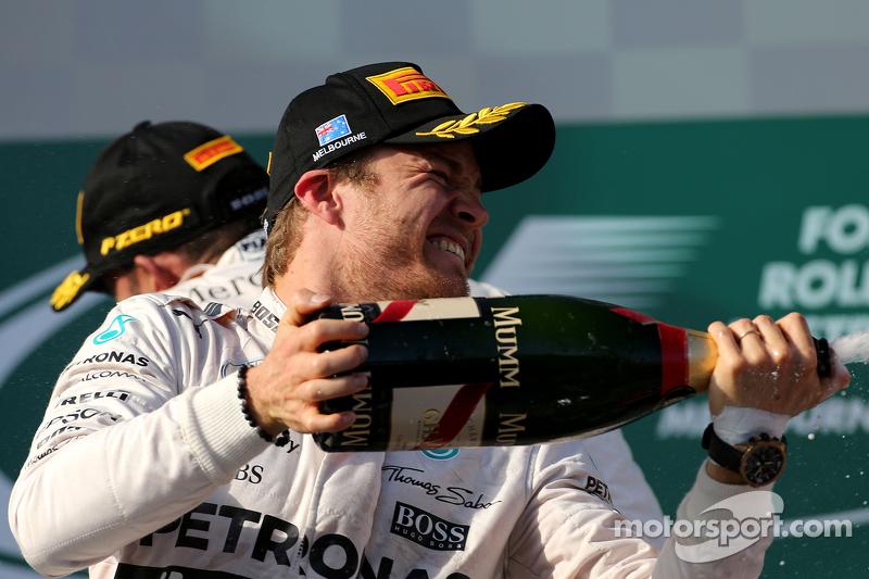 Peringkat kedua Nico Rosberg, Mercedes AMG F1 Team