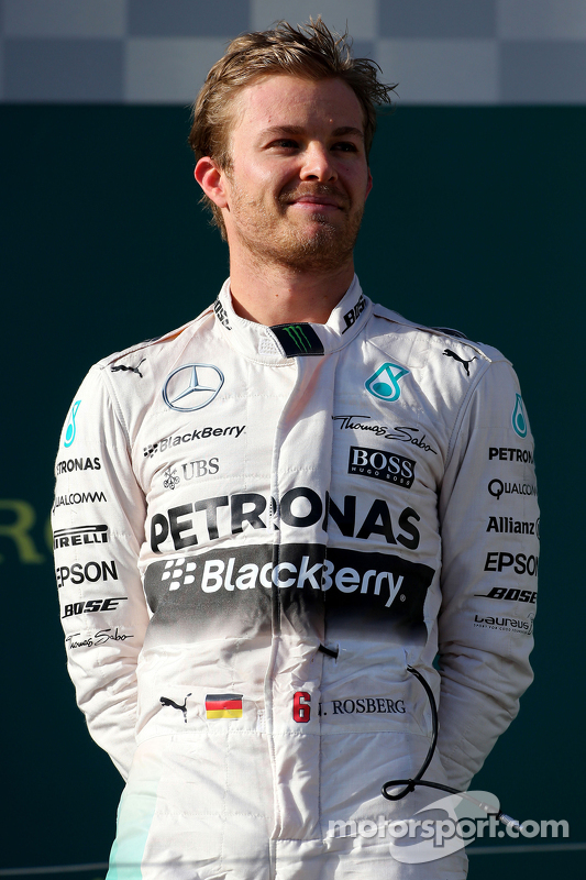2. Nico Rosberg, Mercedes AMG F1 Team