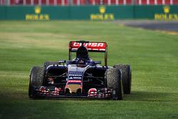 Scuderia Toro Rosso STR10 of race retiree Max Verstappen, Scuderia Toro Rosso