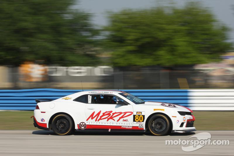 #80 Mantella Autosport,科迈罗Z/28.R: Martin Barkey, Kyle Marcelli
