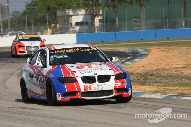 #46 Fall-Line Motorsports BMW M3: Trent Hindman, Ashley Freiberg, Джон Едвардс
