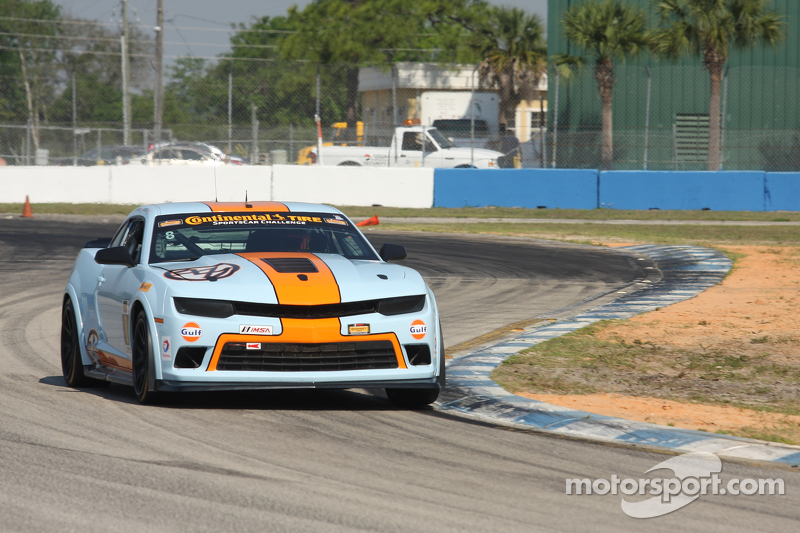 #8 Mantella Autosport,科迈罗 Z/28.R: Anthony Mantella, Mark Wilkins