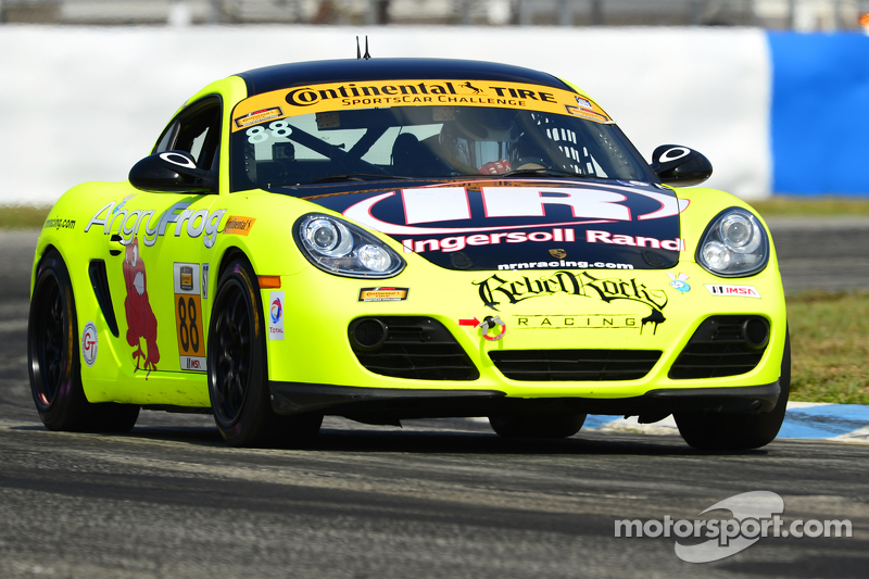 #88 Rebel Rock Racing, Porsche Cayman: Jim Jonsin, Nate Norenberg