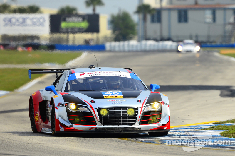 #48 Paul Miller Racing Audi R8 LMS: Крістофер Гаазе, Bryce Miller, Dion von Moltke
