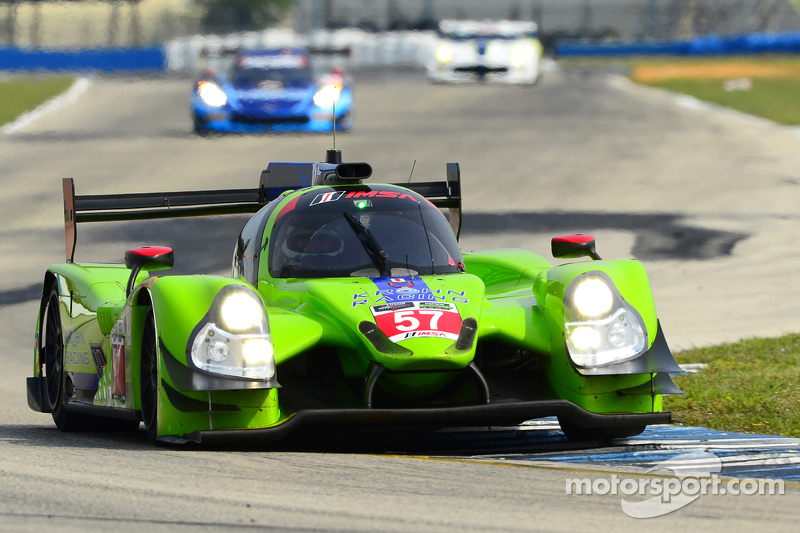 #57 Krohn Racing Ligier JS P2 Judd: Трейсі Крон, Олів'є Пла, Нік Джонсон