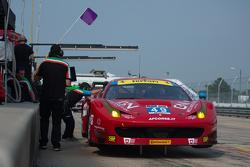 #49 AF Corse Ferrari 458 Italia: Piergiuseppe Perazzini, Marco Cioci, Руї Агуас, Enzo Potolicchio