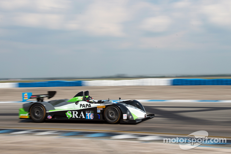#16 BAR1 Motorsports Oreca FLM09: Marc Drumwright, David Cheng, Tomy Drissi, Martin Plowman