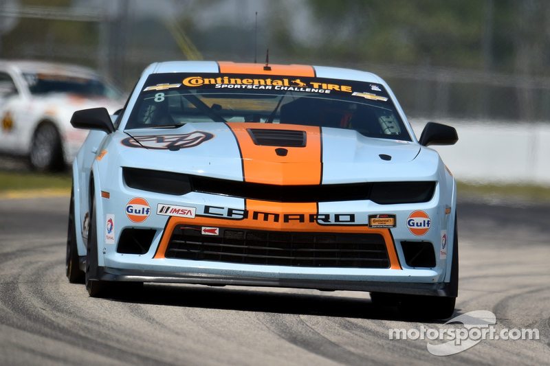 #8 Mantella Autosport,科迈罗 Z/28.R: Anthony Mantella, Mark Wilkins