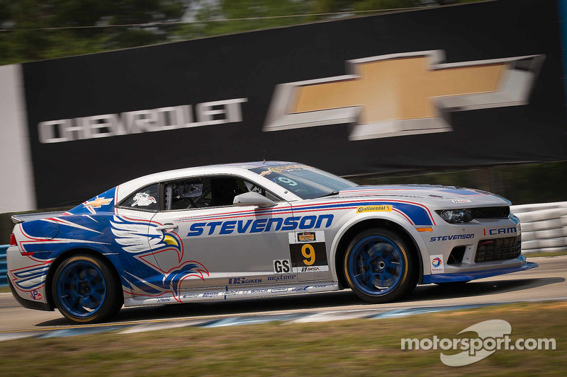 #9 Stevenson Motorsports Camaro Z/28.R: Лоусон Ашенбах, Метт Белл