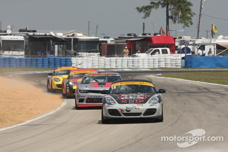 #18 RSI Porsche Cayman: Jon Miller, Adam Isman